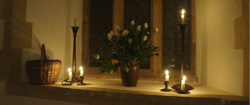 Service of Light. Church of St John the Baptist. Heathfield. 2012