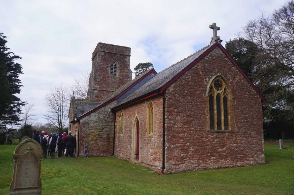 Church of St John the Baptist. Heathfield. 2013