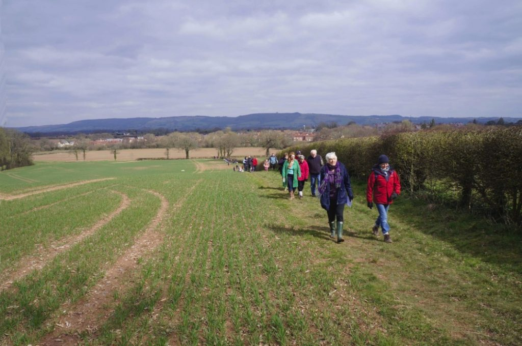 Benefice Walk of Witness. Easter 2012.