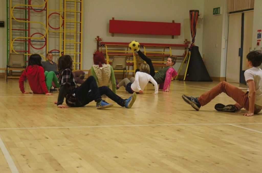 Crab Football. EVENT youth club. CSL. 2013